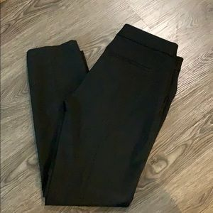 Express columnist ankle pant in black